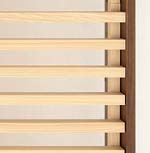 without tatami (only with Japanese cypress slats)