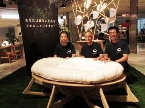 8月20日(土)新宿オゾンにて、人類進化ベッド開発秘話・トークショーを開催します。