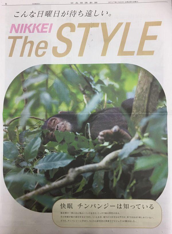 2017年4月 日本経済新聞朝刊 Nikkei The Style