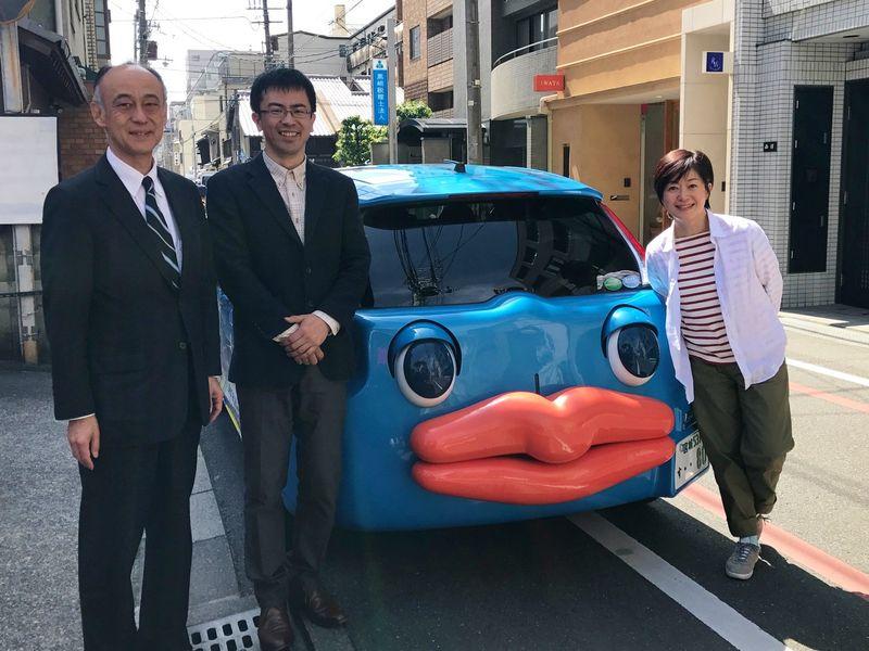 Honda Smile Missionに人類進化ベッド発案者・座馬氏が登場します。