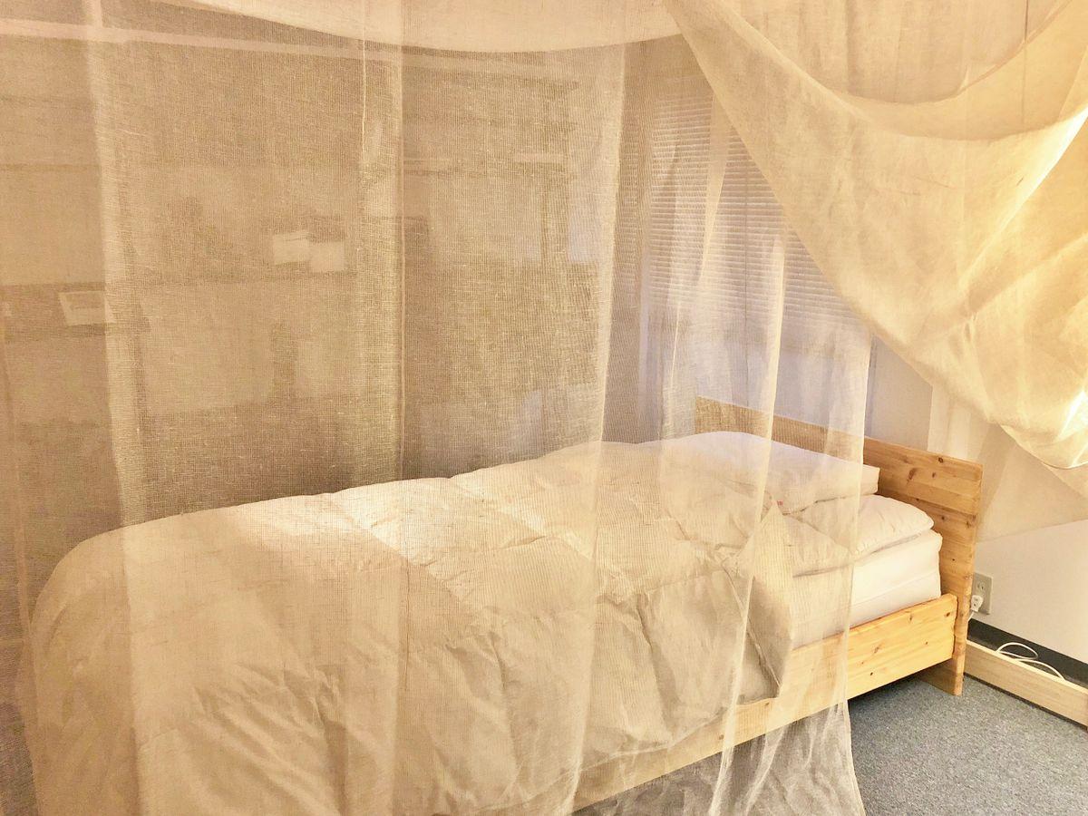 京都本店に「蚊帳」を導入しました