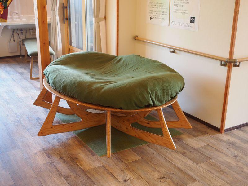 グループホーム・「ま花」様に、人類進化ベッドを導入していただきました。