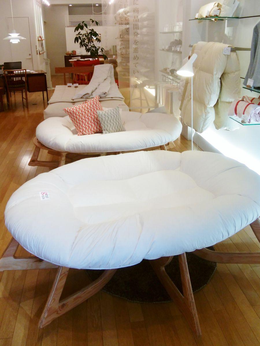 京都本店にて3タイプの「人類進化ベッド」が体験していただけます